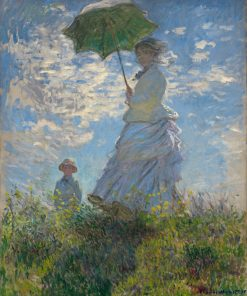 Claude Monet-Woman with a Parasol