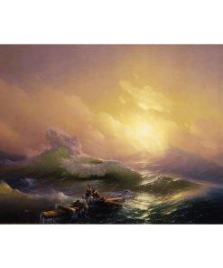 The Ninth Wave by Hovhannes Aivazovsky